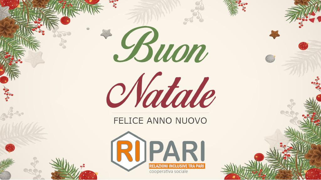 auguri di buon natale da Cooperativa Ripari Milano