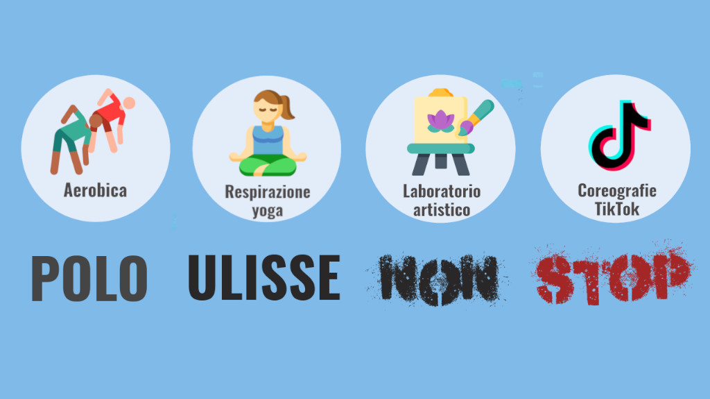 """Polo Ulisse NON STOP"" – 4 laboratori on line"