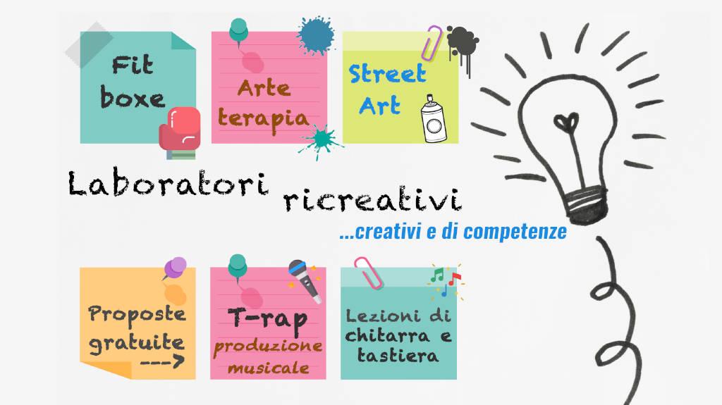 promozione attività laboratoriali Polo Ulisse Trezzano sul Naviglio - adolescenti - spazio compiti - attività minori
